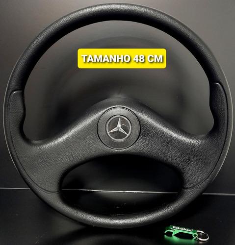Volante De Caminhão Mercedes Benz Mb 2213 Hpn Black 48cm Vc