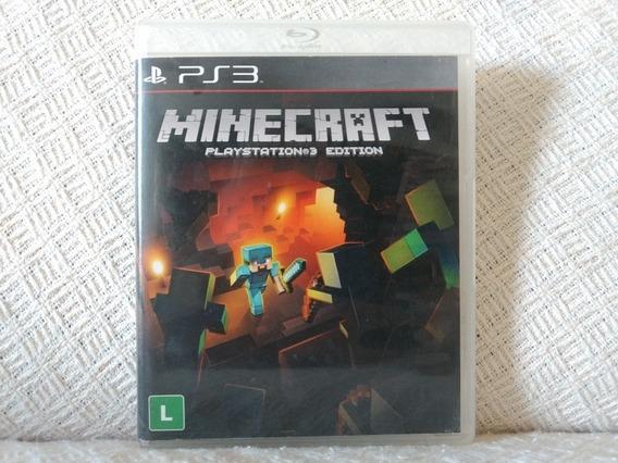 Jogo Ps3 Minecraft Mídia Física Original