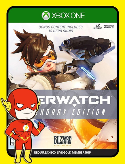 Overwatch Legendária Xbox One - 25 Dígitos (envio Flash)