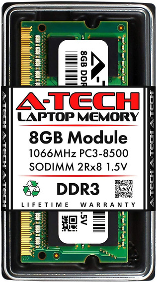 Memoria Ddr3 8gb 1066mhz Notebook Macbook Mac Pc3-8500