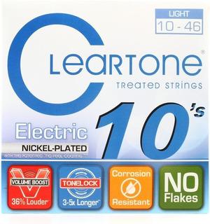 Cuerdas Cleartone Nickel Plated Guitarra Electrica