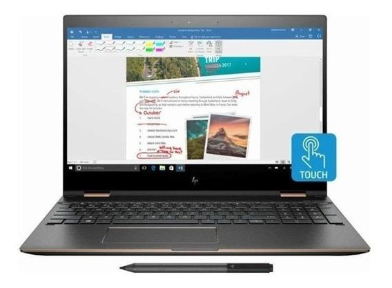 Laptop Hp Spectre X360, 15.6 Ips 4k, I7-8550u 1.8 Ghz, 16gb