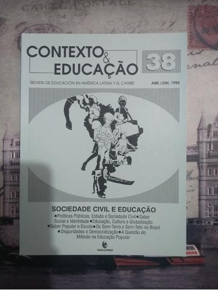 Livro: Sociedade Civil E Educação