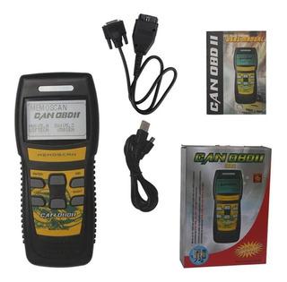 Scanner Automotriz Memoscan U581 Obd2 Multimarca
