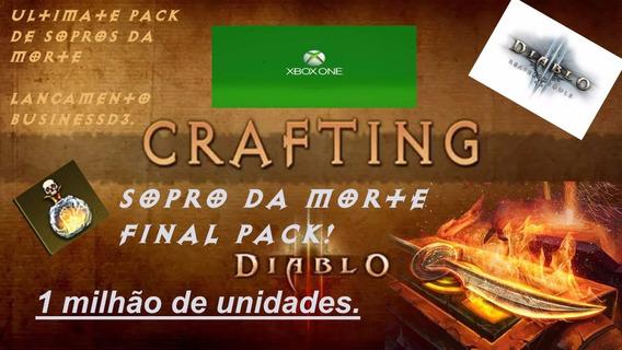 Diablo 3 Ros - Xbox One -1 Milhao De - Sopros Da Morte!