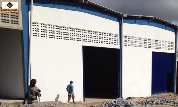 Galpões 430m² Na Cascalheira - Camaçari/ba. - G1515 - 3189073