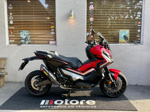 Honda X Adv 750 - 19/19 Vermelha - 6.783 Km - Akrapovic Full