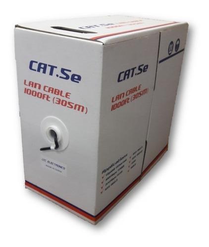 Cable Utp 5e Ltcelectronics 305m Inte P/red Balun Cam Utpint