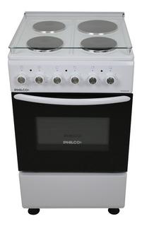 Cocina Philco PHCE051 4 hornallas eléctrica blanca 220V - 230V/380V - 400V puerta visor