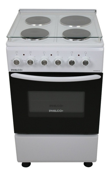 Cocina Philco PHCE051 4 eléctrica blanca 220V - 230V/380V - 400V puerta visor