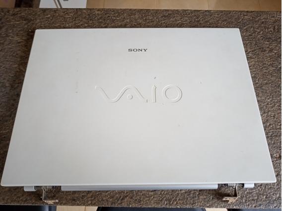 Carcaça Completa Sony Vaio Vgn N200 Pcg 7x1lcom Dvd