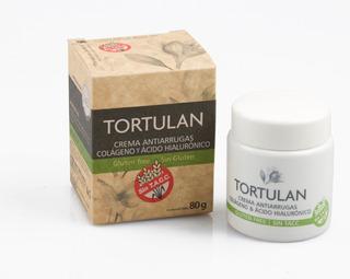 Tortulan Crema Antiarrugas Acido Hialurónico Sin Tacc 80grs