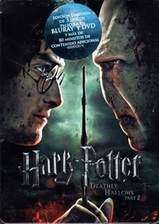 Harry Potter And The Deathly Hallows Part 2 Steelbox Nuevo