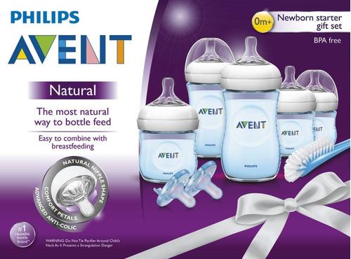 Kit Set De Teteros Avent Azul Anticólicos Avent Philips