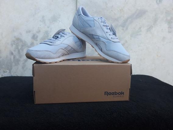 Tênis Reebok Classic Leather Nylon 100% Original Cn6885