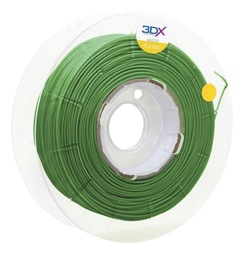 Filamento Pla Ht Verde Metal 500g 1,75mm 3dx