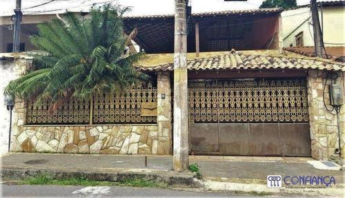 Imagem 1 de 15 de Casa Com 3 Dormitórios À Venda, 317 M² Por R$ 580.000 - Campo Grande - Rio De Janeiro/rj - Ca1957