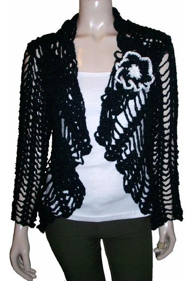 Sacos Tejidos Circular Crochet Calado Hilo Mujer