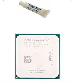 Lote 5 Athlon Ii 2 Phenom 64 X2 550 3.1ghz Socket Am3+ Pasta