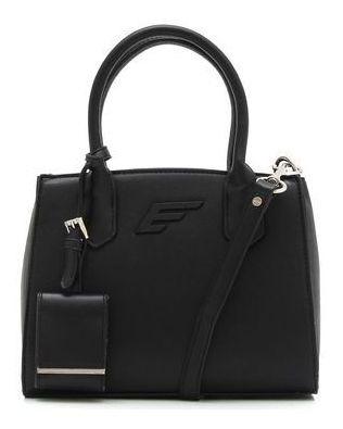 Bolsa Ellus Mini Tote Bag Essential Preta Nova