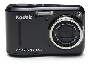 Cámara Digital Con Zoom Óptico 4x Kodak Pixpro Fz4116mp Y