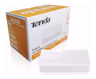 Switch 8 Puertos 10/100 Tenda S108 Garantia 1 Año