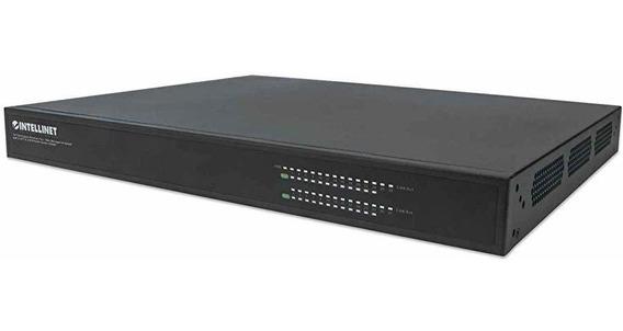 Switch Intellinet 24-port Gigabit Ethernet Poe+ Layer2+ We ®