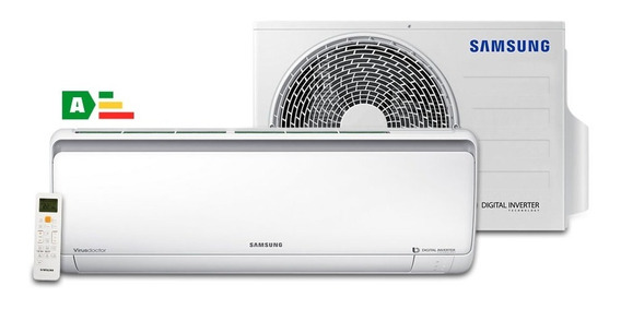 Ar Condicionado Split Samsung Digital Inverter 9.000 Btu/h F