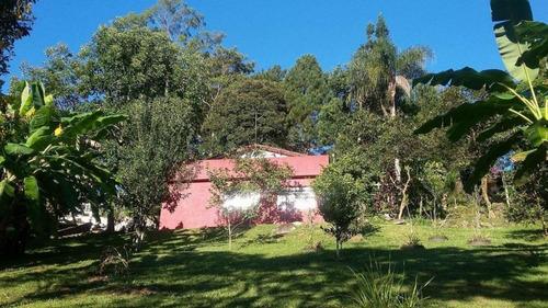 Imagem 1 de 9 de Excelente Chácara Com 02 Casas E Lago - Bairro Da Graça - Cotia /sp - Ch602v