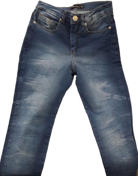 Pantalon Jean Chupin Superelastizado. Nuevo!!! (n017)