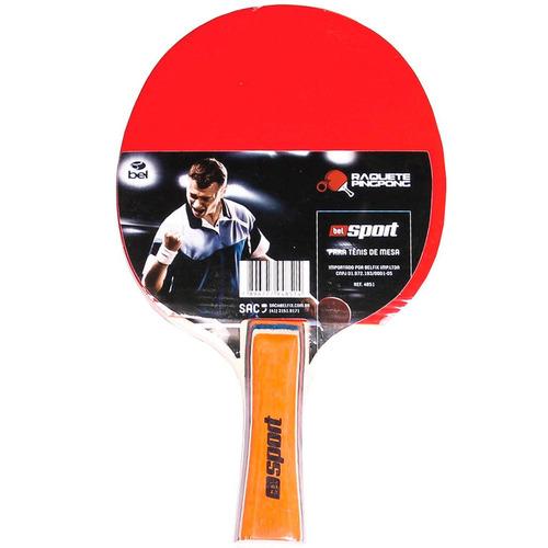 Raquete Para Ping Pong Borracha Semi Profissional Belfix