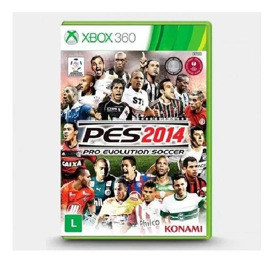 Pes 2014 Xbox 360 Pró Evolution Soccer 14 Original Mídia Fis