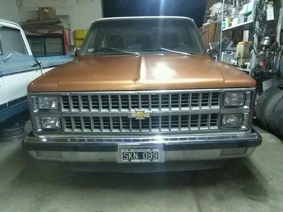Pick Up Chevrolet Silverado 1981 Importada ..!