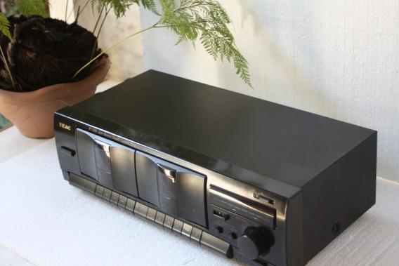 Tape Deck Teac W-518r Auto Reverse Double Cassette Deck 275