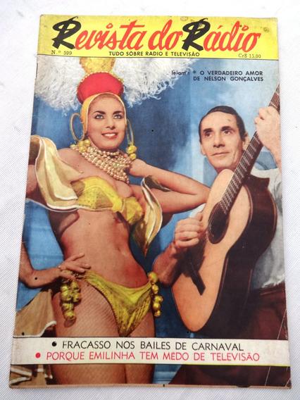 Revista Do Rádio Nº 599: Zezé Macedo - Zé Bonitinho - 1961