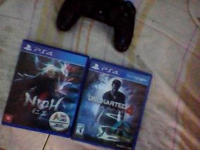 Jogos Ps4 Uncharted 4 E Nioh. 50 Os Dois.