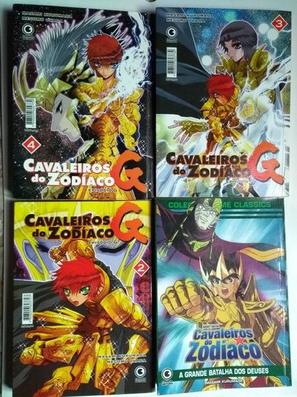 Mangás Cavaleiros Do Zodíaco - 4 Volumes