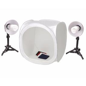 Kit Mini Estúdio Fotográfico Tenda 40cm 45w 220v Pk-st07