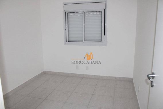 Apartamento Com 3 Dormitórios À Venda, 95 M² Por R$ 495.000 - Condominio Residencial Montpellier - Sorocaba/sp - Ap0018