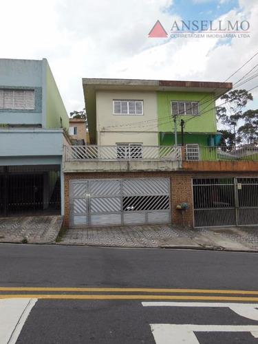 Sobrado Com 3 Dormitórios Para Alugar Por R$ 2.200,00/mês - Jardim Calux - São Bernardo Do Campo/sp - So0234