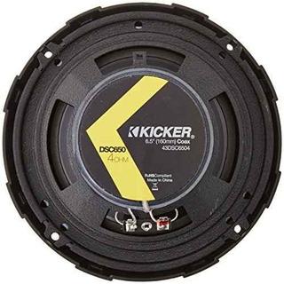 2) Kicker 43dsc6504 6.5 240 Vatios 2 Vías 4-ohm Alta
