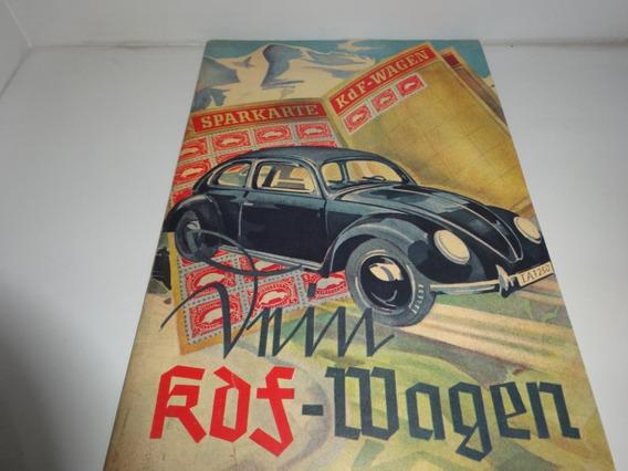 Livro Ilustrado Reprint Historia Vw Fusca Made In Germany