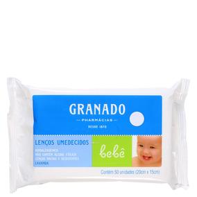 Granado Bebê Lavanda - Lenços De Limpeza (50 Un) Blz