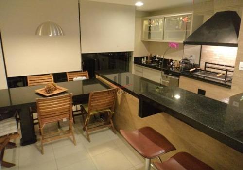 Lindo Apartamento Em Condomínio Alto Padrão Para Venda No Bairro Do Tatuapé, 4 Dorm, 2 Suíte, 3 Vagas, 204 M - 1675