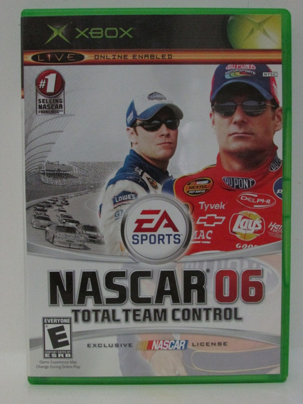 Nascar 06 - Game Xbox Original Completo Americano