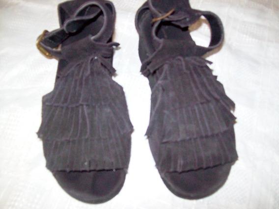 Aurojul- Zapatos Sandalias Nobuk C/plataforma-como Quieres