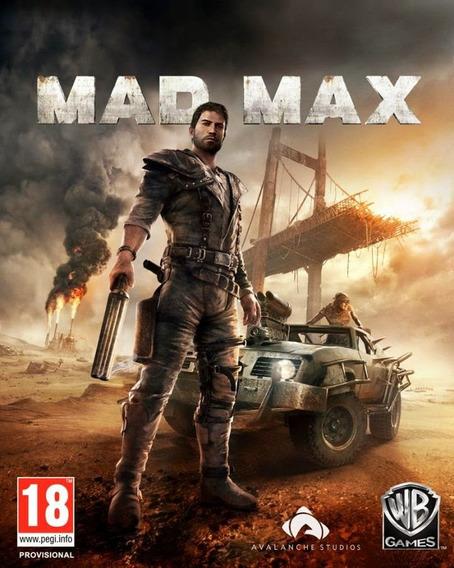 Mad Max Pc - Mídia Física + 1 Brinde Pc Dvd