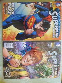 Hq Superman - Os Novos 52 - N 35 E 36 - Nova Fase