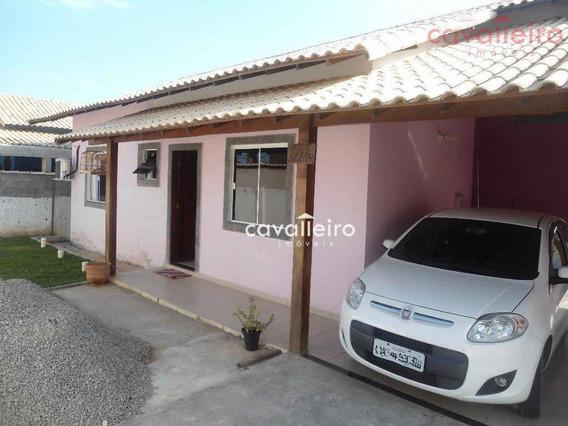 Casa Residencial À Venda, Cordeirinho (ponta Negra), Maricá. - Ca2133