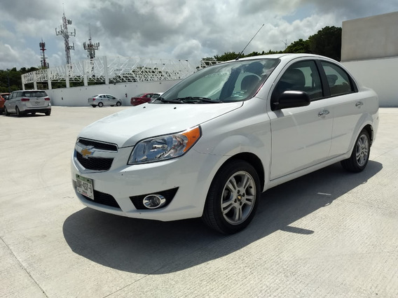 Chevrolet Aveo 2018 Ltz Automático Carflex Cancún 21302481
